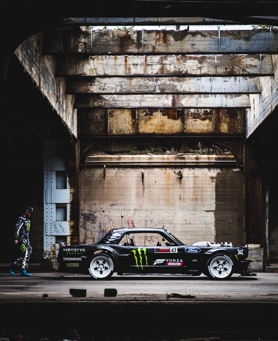 Hoonigan Racing Division's Ken Block is pleased to announce that he's currently in production of GymhanaTEN, the 10th installment of his award-winning, Gymkhana viral video franchise. Block has done so today via a two-minute trailer, which is presented by Pennzoil, in addition to Ford, Forza, Toyo Tires, Monster Energy and Can-Am.