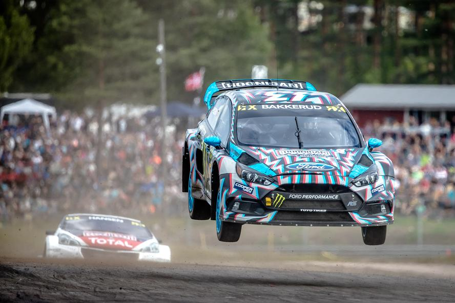 Now that the 2017 World RX season and Gymkhana GRID are complete, Hoonigan Racing and Ken Block say goodbye to their teammate for the past two seasons, Andreas Bakkerud. The split comes after the joint decision by both Ford Performance and Block to discontinue racing the Focus RS RX full-time in the FIA World Rallycross Championship.