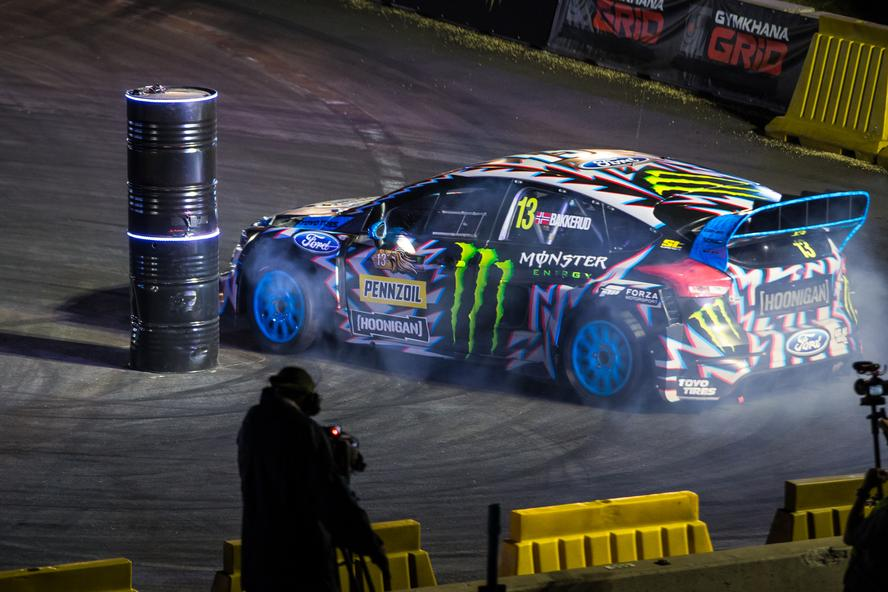 For this year's Gymkhana GRID, Monster Energy took the event to Johannesburg, South Africa. This marked the first time that GRID had ever been held on the continent and proved to be the biggest and most exciting GRID to-date.
