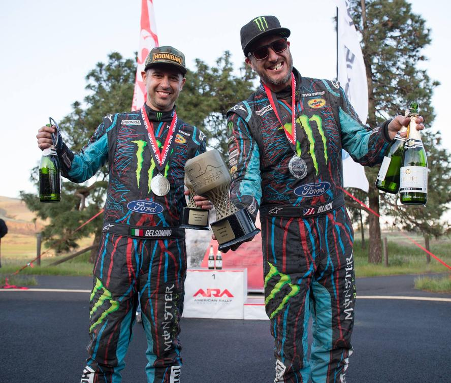 "This past weekend, Hoonigan Racing Division's Ken Block brought himself back into stage rally for the first time in 3 years with co-driver Alex Gelsomino. After multiple seasons dedicated to rallycross, Block chose to spread his abilities out a bit more for 2018 and that meant getting back to his original passion: stage rally. For his domestic events in 2018, Block decided to purchase and run a 1991 Ford Escort Cosworth WRC Group A car, a vehicle most would describe as ""historic."" Known best for having ""that wing,"" the Cossie is one of Block's favorite classic Ford gravel machines and he put it to good use, placing it third overall in the weekend's Oregon Trail Rally and second overall in the Open Class."
