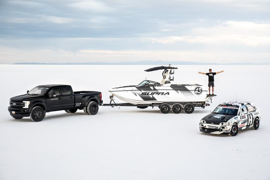 A long-time outdoor enthusiast, Ken Block is pleased to announce a massive improvement to his summer fun at home in Park City, Utah: a new relationship for 2018 with Marine Products and Supra Boats.