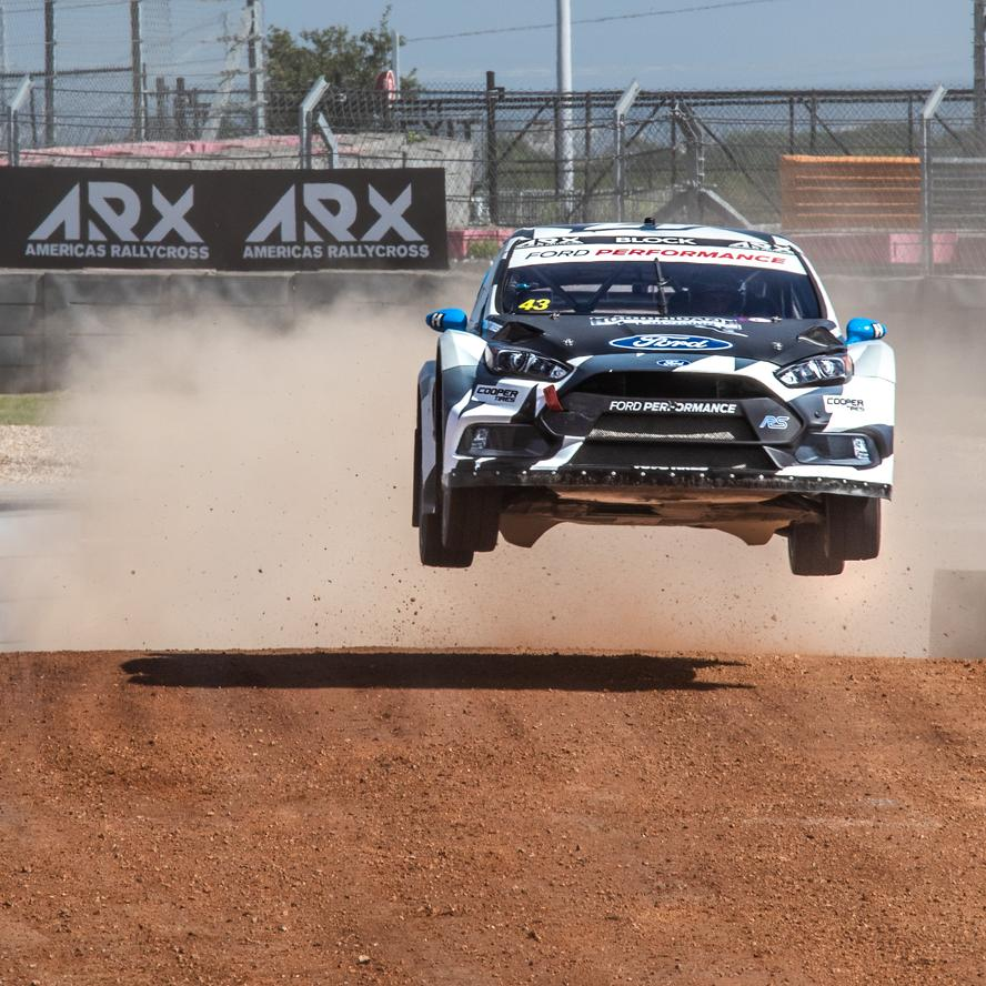 In his first outing of 2018 in his Ford Focus RS RX rallycross car and his debut in the Americas Rallycross Championship, this past weekend, Ken Block overcame a series of technical challenges throughout the race day yesterday and placed himself and his Focus squarely on the podium, landing his best rallycross finish in the last three seasons with a 2nd overall and kicking off his return to racing rallycross in America in a big way.