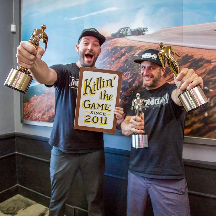 Building upon an established history of award-winning digital viral video content through Ken Block's GYMKHANA franchise of films, Block and his creative team at Hoonigan Media Machine are pleased to announce the latest slew of awards for automotive content.