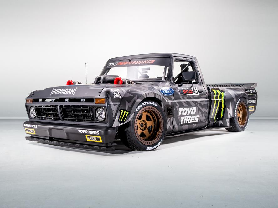 Ahead of his upcoming GYMKHANA TEN, Ken Block, in association with Toyo Tires, is pleased to present to the world his latest, mind-blowing custom Gymkhana vehicle build: The Hoonitruck!