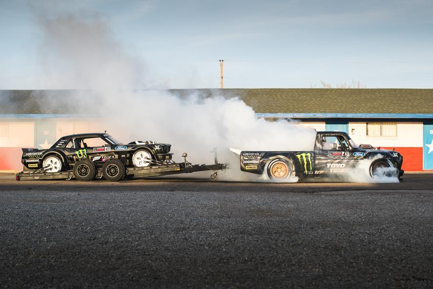 Ken Block and Hoonigan are pleased to announce that Block's latest and biggest to-date video project of his career, Gymkhana TEN: Ultimate Tire Slaying Tour, is now available on Hoonigan's YouTube channel worldwide after a 10-day exclusivity window on Amazon Prime Video as part of Block and Hoonigan's The Gymkhana Files documentary.
