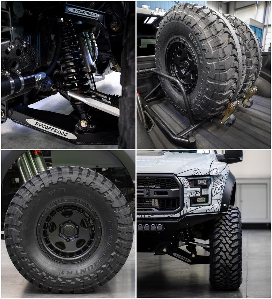 To kick off 2019, Hoonigan Racing Division's Ken Block has teamed up with SVC Offroad on a new Ford F-150 Raptor project for 2019.