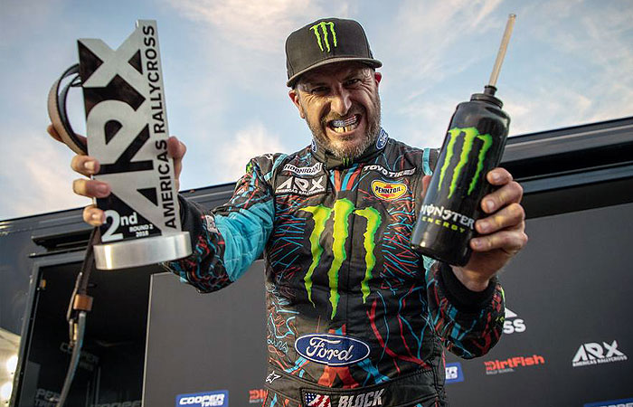 KEN BLOCK CLAIMS 2ND OVERALL IN HIS AMERICAS RALLYCROSS DEBUT