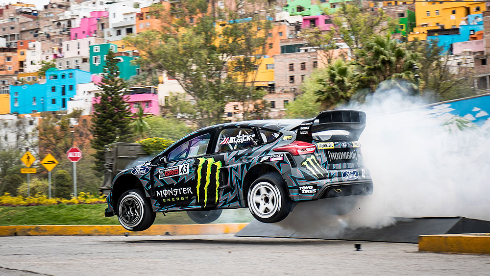 KEN BLOCK'S GYMKHANA TEN: ULTIMATE TIRE SLAYING TOUR NOW STREAMING ON HOONIGAN'S YOUTUBE CHANNEL