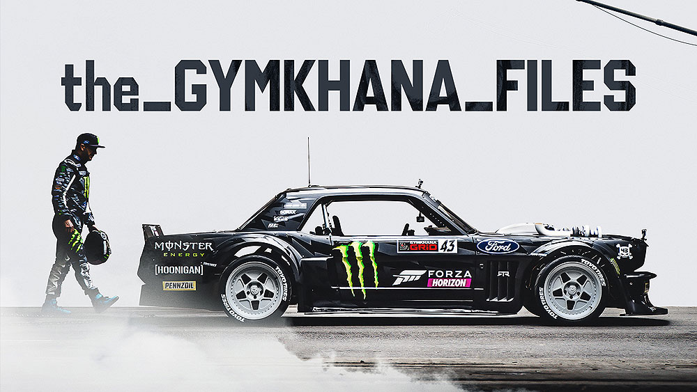 KEN BLOCK & HOONIGAN'S THE GYMKHANA FILES: NOW STREAMING, EXCLUSIVELY ON AMAZON PRIME VIDEO!