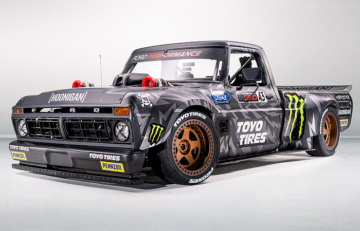 KEN BLOCK AND TOYO TIRES PRESENT: THE HOONITRUCK!