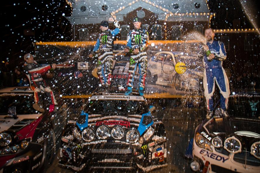 Ken Block And Alex Gelsomino Win 100 Acre Wood For The 7th Time!