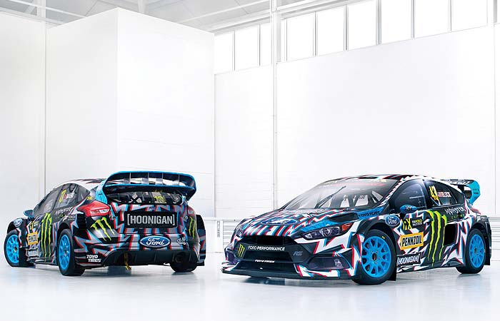 HOONIGAN RACING LIVERIES BY DEATH SPRAY CUSTOM