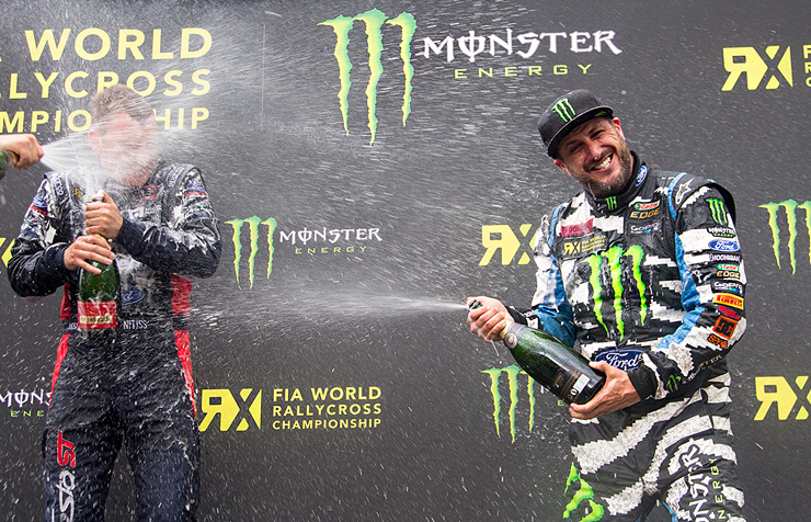KEN BLOCK & FORD PERFORMANCE COMMIT TO FIA WORLD RX 2016