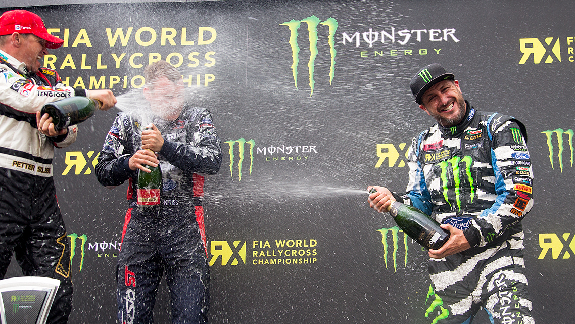 KEN BLOCK AND FORD PERFORMANCE ANNOUNCE COMMITMENT TO FIA WORLD RX FOR 2016