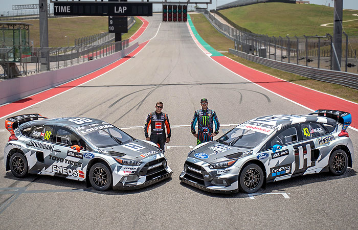 BLOCK & ARPIN DEBUT TEAM LIVERIES AND DO FINAL RX TESTING