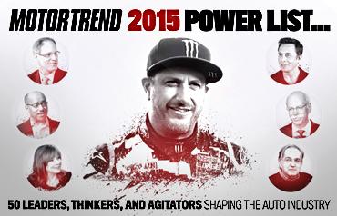 KEN BLOCK ON MOTOR TREND'S 2015 POWER LIST!