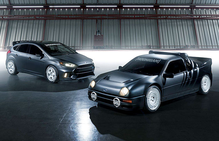 KEN BLOCK'S FORD RS200 AND FOCUS RS DAILY DRIVERS