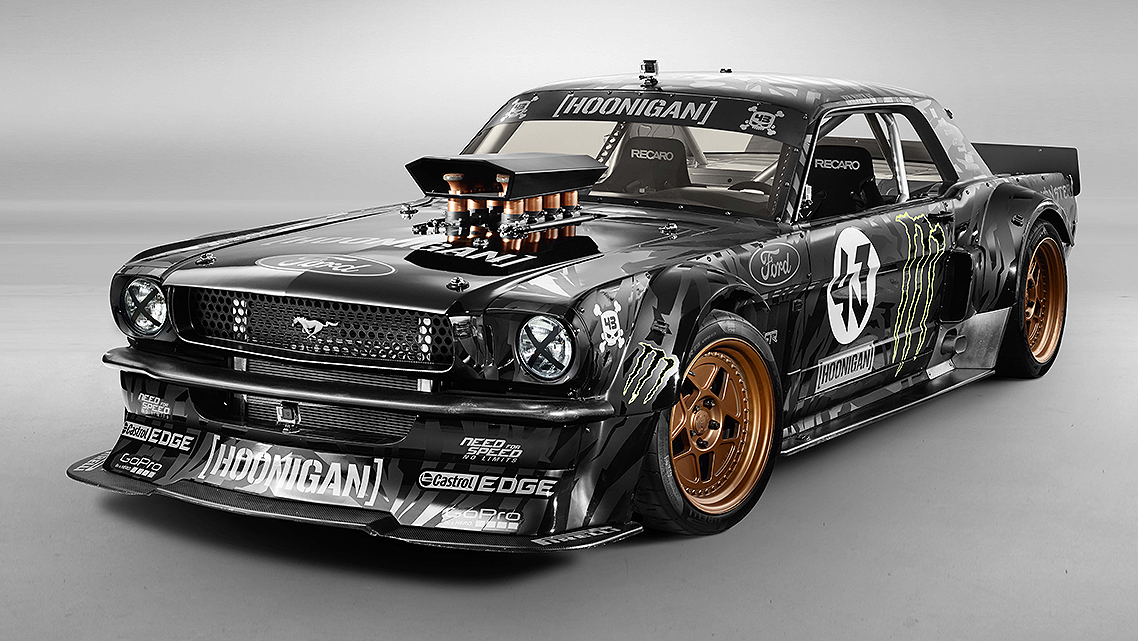 KEN BLOCK INTRODUCES HIS HOONICORN RTR