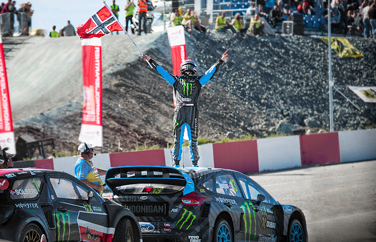 ANDREAS BAKKERUD WINS IN FIA WORLD RX RD:5 HELL, NORWAY