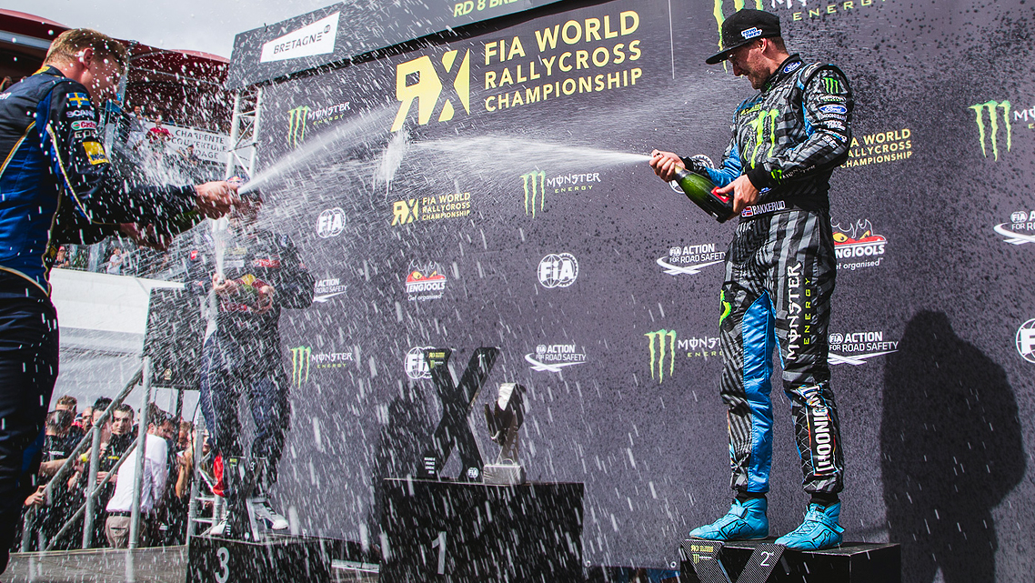 BAKKERUD TAKES 2ND AT RD:8. 4TH PODIUM IN A ROW!