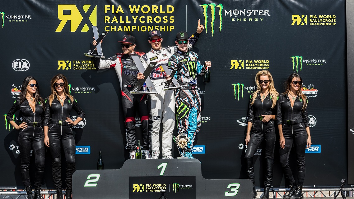BAKKERUD TAKES 3RD AT 2017 WORLD RX RD:1 BARCELONA