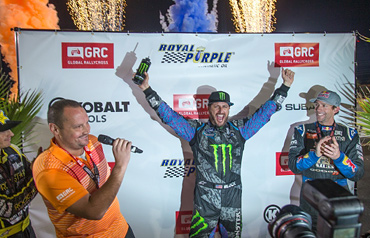 Ken Block Dominates Global Rallycross Las Vegas!