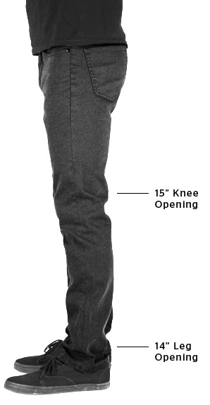 "Riggs Tailored Fit Pant | 15"" Knee Opening & 14"" Leg Opening"