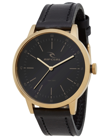 DRAKE WATCH GOLD LEATHER