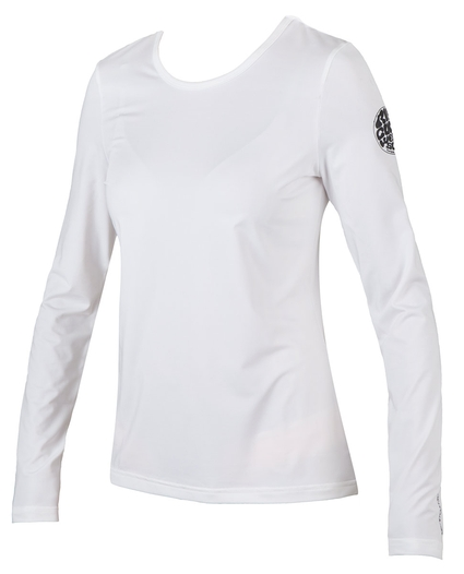 WHITEWASH LOOSE FIT L/S RASHGUARD