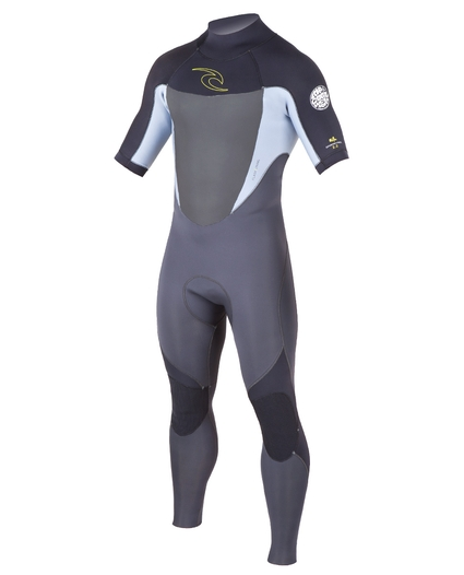 MENS DAWN PATROL BACK ZIP S/S FULL 2/2 WETSUIT