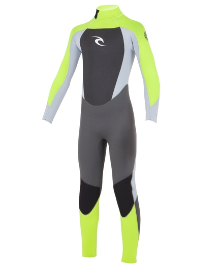 YOUTH DAWN PATROL BACK ZIP FL 3/2 WETSUIT