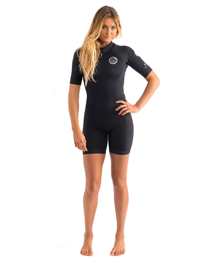WOMEN'S DAWN PATROL S/S SPRINGSUIT 2MM