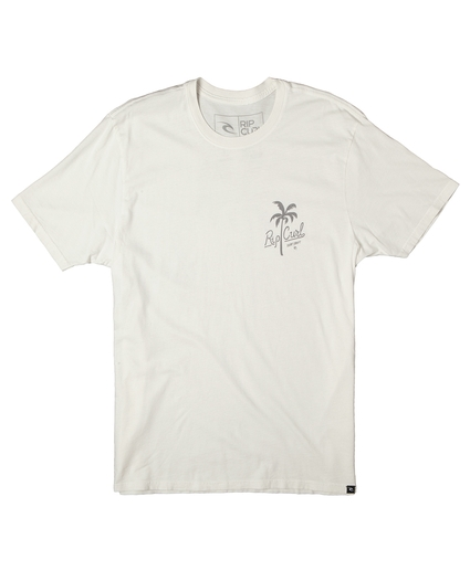 PALM SPLIT HERITAGE TEE
