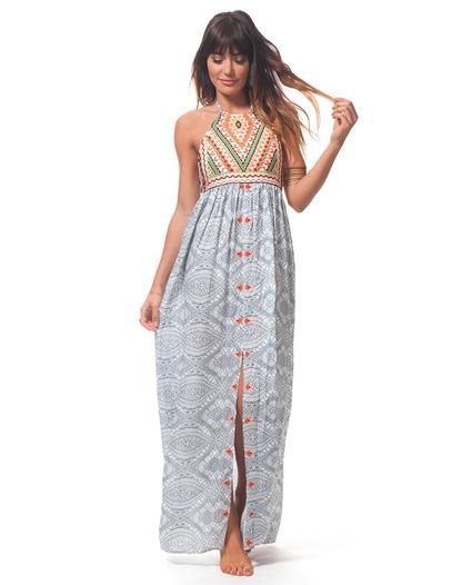 MAYAN SUN MAXI DRESS