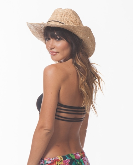 ADDIS STRAW COWGIRL HAT