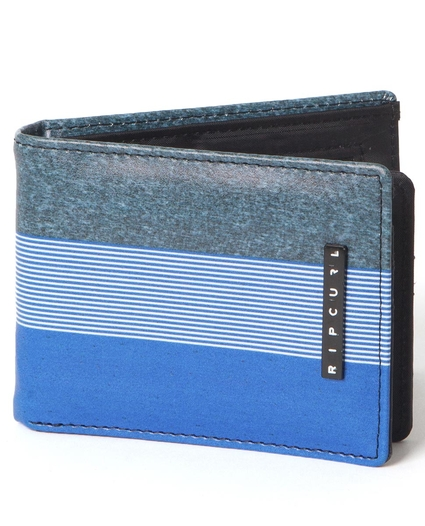 RAPTURE STRIPE PU SLIM WALLET