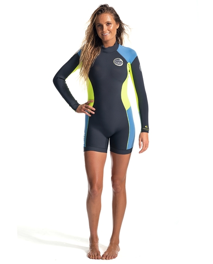 WOMEN'S DAWN PATROL L/S SPRINGSUIT 2MM
