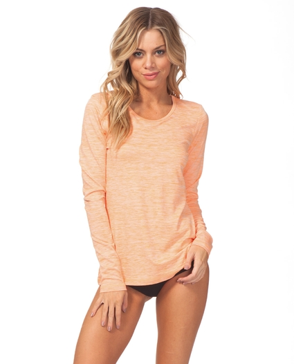 WOMEN'S SEARCH L/S SURF SHIRT