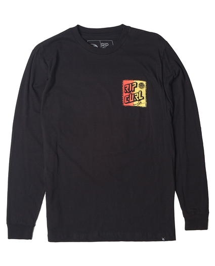 RETRO SHRED L/S TEE
