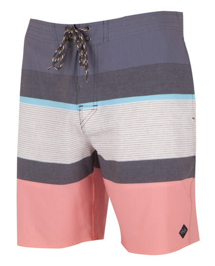 "RAPTURE STRIPE 19"" LAY DAY BOARDSHORT"