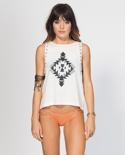 LIGHT CATCHER MUSCLE TEE