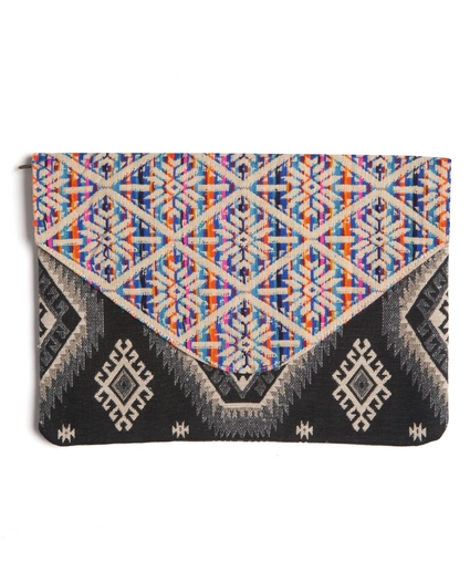SURF TRIBE ENVELOPE CLUTCH