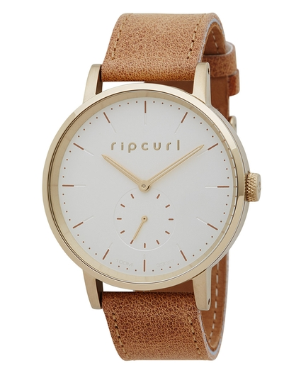CIRCA WATCH LEATHER GOLD