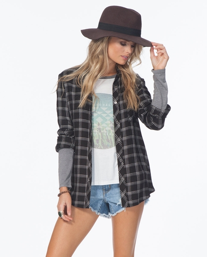 NIGHTLINE FLANNEL SHIRT