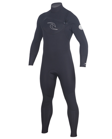 MENS DAWN PATROL CHEST ZIP 4/3 WETSUIT