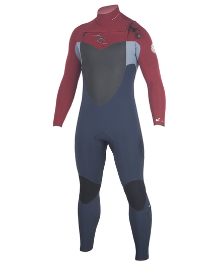 MENS FLASHBOMB CHEST ZIP 4/3 WETSUIT