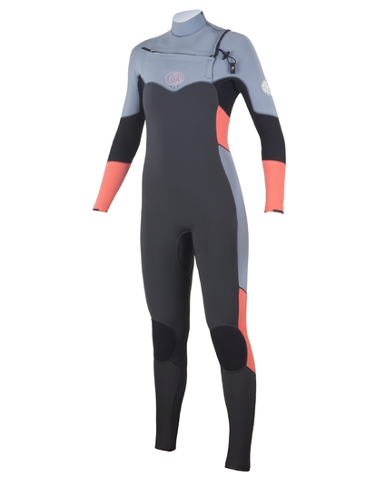 WOMEN'S FLASHBOMB CHEST ZIP 3/2 WETSUIT