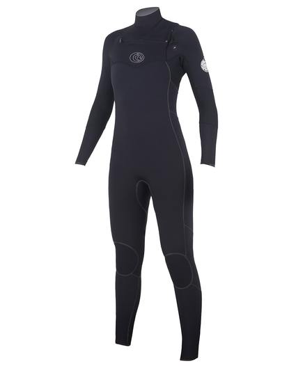 WOMEN'S FLASHBOMB CHEST ZIP 4/3 WETSUIT