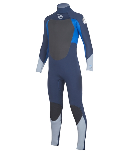 YOUTH DAWN PATROL BACK ZIP 4/3 WETSUIT