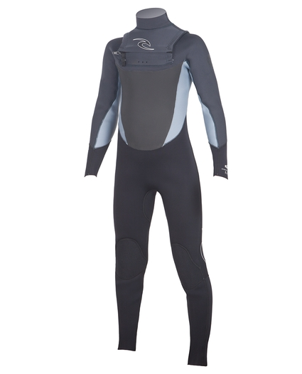 YOUTH DAWN PATROL CHEST ZIP 3/2 WETSUIT